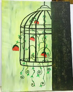 A painting by Madhu.